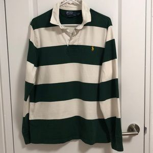 Green and white RL Rugby